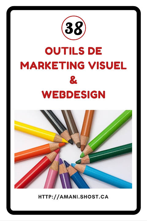 38 outils de webdesign et marketing visuel